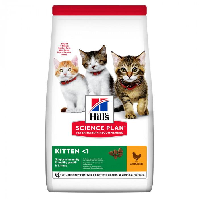 Корм Hill's Science Plan Healthy Development для котят до 12 месяцев курица, 3 кг