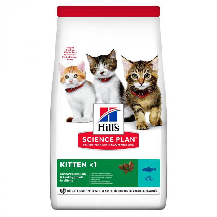 Корм Hill's Science Plan Healthy Development для котят до 12 месяцев с тунцом, 1.5 кг