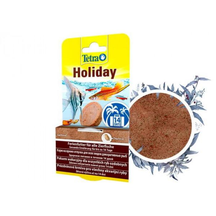 Tetra Holiday корм для рыб на срок до 14 дней, твердый гель, 30 г