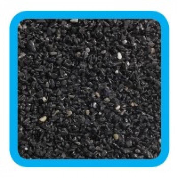 Грунт Лагуна 20106A крошка черная, 2кг, 2-4мм