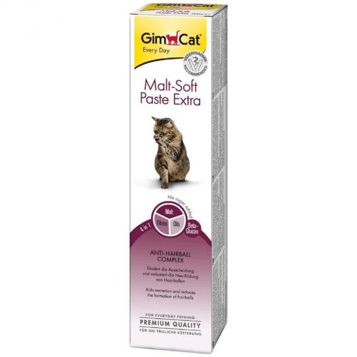 Паста GimCat Мальт Софт Экстра для кошек 20г