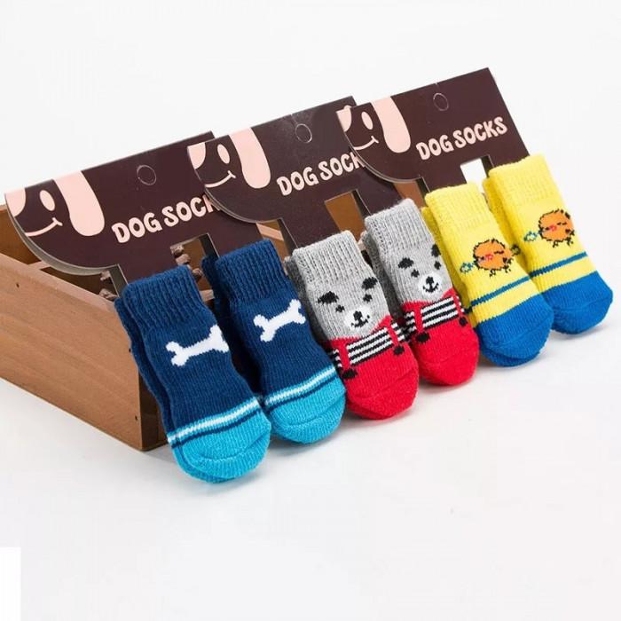 Носки для домашних животных, цвет в ассортименте, размер M (3,5 см)