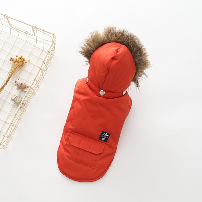 """Куртка """"Air Force"""", цвет красный, размер М (длина спины 31 см)"""